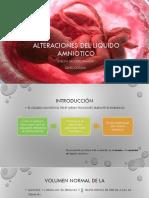 Alteraciones Del Liquido Amniotico