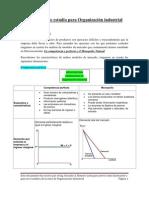 Estructura de estudio para Organización industrial