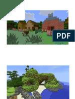 Escenarios Torta Minecraft