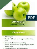 Chapter 2 - Input Output