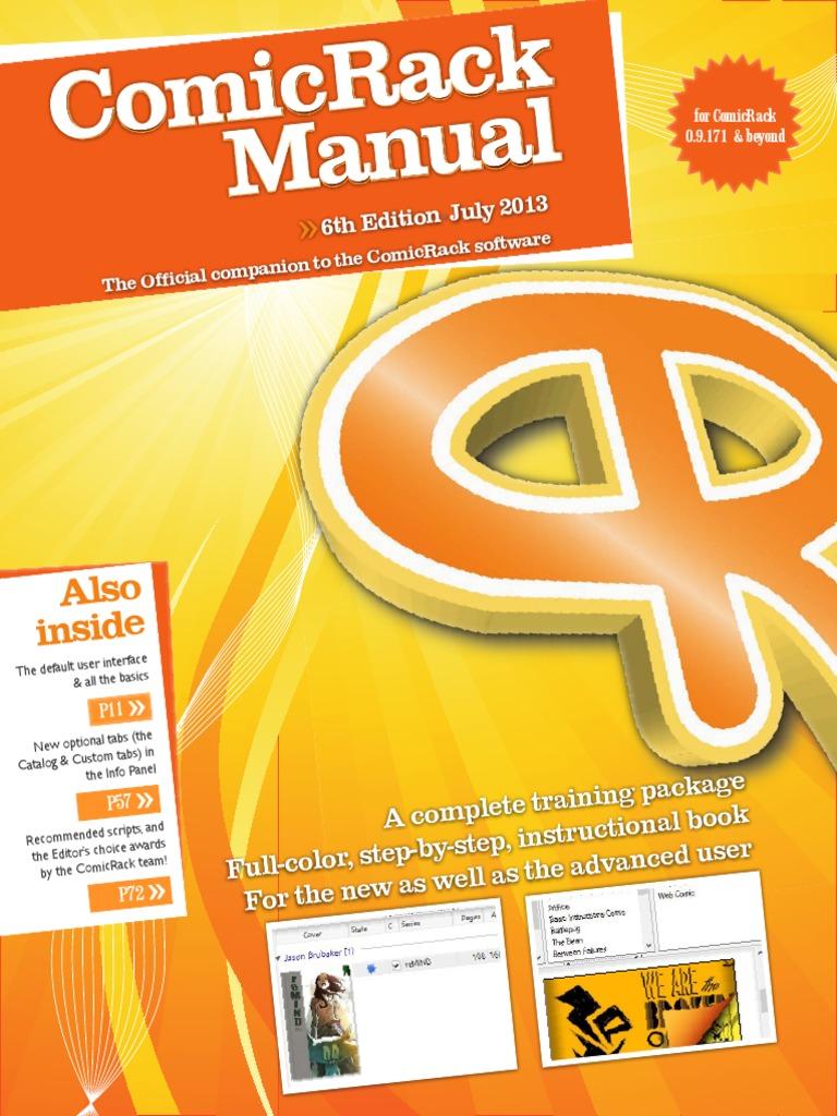 ComicRack Manual (6th Ed) | Tab (Gui) | Metadata