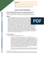 The Treatmentof Obesity in Cardiac Rehabilitation