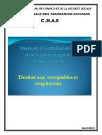 Manuel Dutilisation Logiciel Dispositif Employeur CNAS