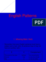 English Patterns.ppt
