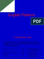 English Patterns.ppt