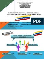 Manual de Funcionamiento de Capacitacion 2015 Unico