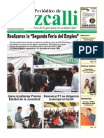 Periodico de Izcalli, Ed. 612 Agosto 2010
