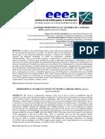 Estudo Da Estabilidade Dimensional Da Madeira de Cambará-rosa Qualea Paraensis Ducke