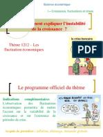 Thème 1212 – Les fluctuation économiques.ppt