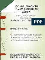 Apresentação BNCC - Base Ncional Comum Curricular