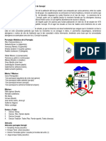 Reseña Histórica Del Municipio San Rafael de Carvajal