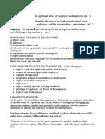 ITL6 Labour Law