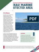 MTPAN Berau Fact Sheet