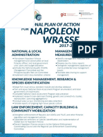 National Plan of Action for Napoleon Wrasse