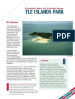 MTPAN Turtle Islands Park Factsheet
