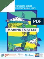 Rescue Response Manual -Marine Turtles