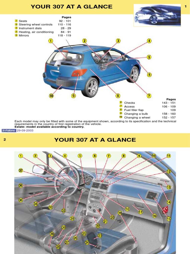 manual peugeot 307 pdf | Manual Transmission | Airbag
