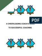 Cheerleading Coach's Guide