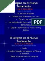 1 - El Kerigma en El Nuevo Test Amen To