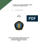 Keterkaitan Tujuan, Kriteria, Asersi, Sera Teknik Dan Prosedur Audit