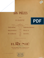 Renié  Six Pieces Harp solos