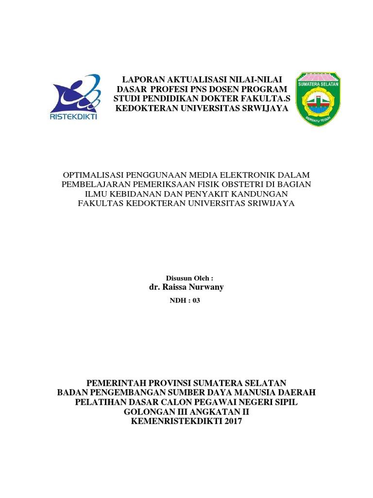 Dr Raissa Laporan Aktualisasi Fix