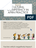 Cultural Competency in APRN Practice(1)
