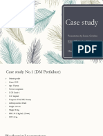 Case study on Diet for DM and Heart Disease patient.