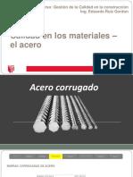 Calidad en Los Materiales- El Acero