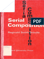 Brindle RS Serial Composition 1969
