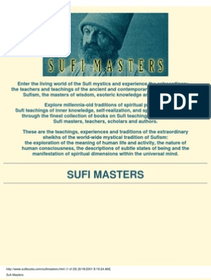 Sufi Masters com | Sufism | Spirituality