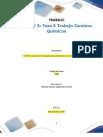 Formato Entrega Trabajo Colaborativo – Unidad 3 Fase 5 Trabajo Cambios Químicos. (1)
