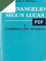 Fitzmyer Joseph a - El Evangelio Segun Lucas I - Introduccion General (Ediciones Cristiandad Madrid 1986)