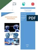 Referat Dentologie Si Etica Profesionala