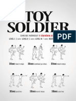 Toy Soldier Workout