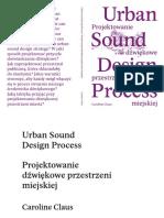 Urban Sound Design Process