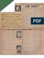 1961-02-28 Política -Segunda Época- Nº 1