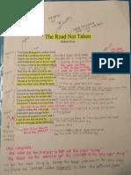 the road not taken page 1 pdf