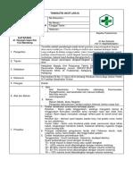 SOP Tonsilitis Akut (J03.9)
