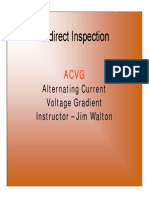 Pipeline Integrity Mgt Periods 4 & 5 Indirect Inspection Tools