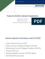 ECDA Indirect Inspections
