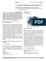 Structural Analysis of a Charcoal Sieving Machine Under Dynamic Load