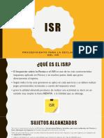 Isr%2c Presentación (1)