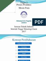 1603016 Muhammad Alvi Nugraha Klasifikasi Mesin Frais Bord&Gurdi