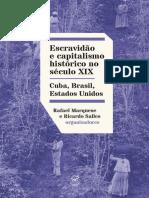 Escravidao e Capitalismo Histor - Rafael Marquese