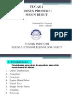 1603016 Muhammad Alvi Nugraha Klasifikasi Mesin Bubut 1