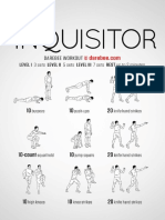 Inquisitor Workout
