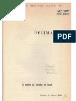MORAES FILHO. O Ensino de Filosofia No Brasil