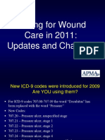 Coding for Wound Care 2011