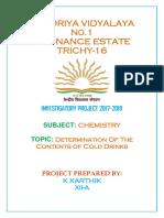 Chemistry I.P Karthik